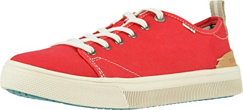 TOMS Women's TRVL LITE Low Poinsettia Canvas 8.5 B US (Best States For Low Taxes)