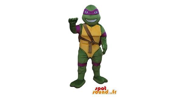 La mascota SpotSound de Donatello, la famosa tortuga ninja ...