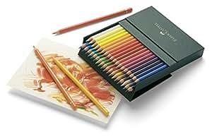 Faber-Castell Polychromos 36 Colour Pencils in Studio Box (18-110038)