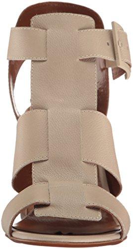 Aquatalia by Marvin K. Women's Freesia Grainy Calf Dress Sandal Pearl Grey h9lJD1Wp