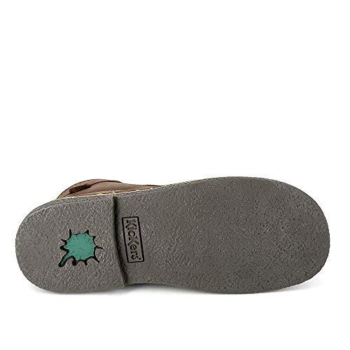 De Zapatos Para Mujer 36 Marrón Cordones Kickers O04p5dPqww