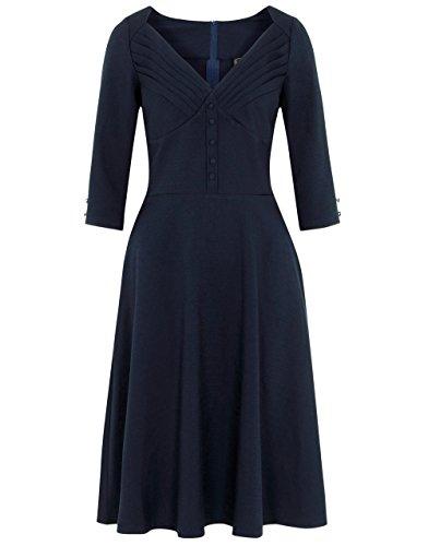 Voodoo Vixen - Vestido - para mujer Azul