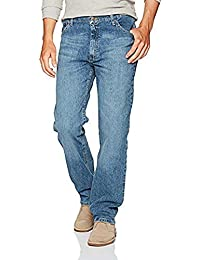 Authentics Men's Big and Tall Classic 5-Pocket Regular...