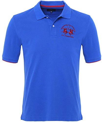la-martina-plain-polo-shirt-blue-xxl