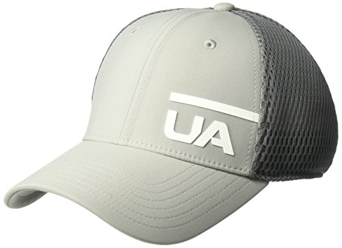 Under Armour Mesh Visor - Under Armour Men's Train Spacer Mesh Cap, Tin (558)/White, Medium/Large