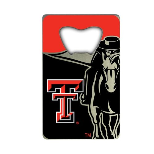 NCAA Texas Tech Red Raiders Credit Card Style Bottle -