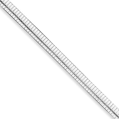 "Argent Sterling 8 mm Cubetto Bracelet - 8 ""- Fermoirs-Mousquetons JewelryWeb"