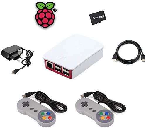 SATYCON Kit Raspberry PI 3 Arcade 2 MANDOS 32GB WiFi LAN: Amazon.es: Electrónica