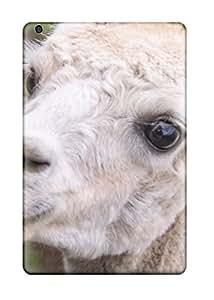 Rugged Skin Case Cover For Ipad Mini/mini 2- Eco-friendly Packaging(alpaca)