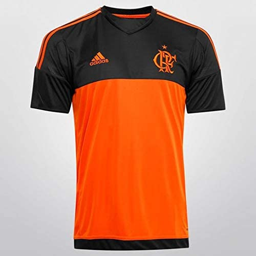 9b6e06eac3 Camisa Flamengo Goleiro Adidas Preta/Laranja mod. Jogador Tamanho:M:  Amazon.com.br: Amazon Moda