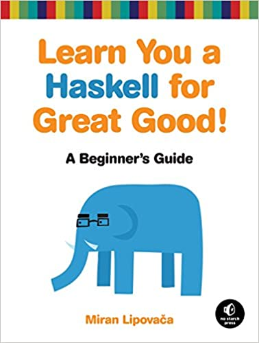 Learn You a Haskell For Great Good book cover