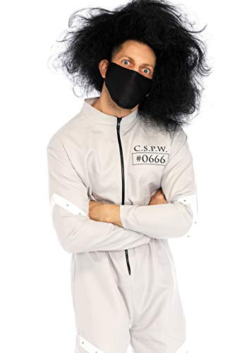 Leg Avenue Men's Insane Asylum Straitjacket Costume, Grey, X-Large -