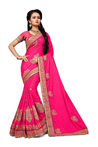 Nozze Facioun Traditional Facioun Donne Indossare Pink Rosa Partito Sari Sari Per 2 Da Le Indian Tradizionale Wear Party Di Indiani Designer Sari Da Sarees Women For Wedding 2 Progettista zqzH7wd