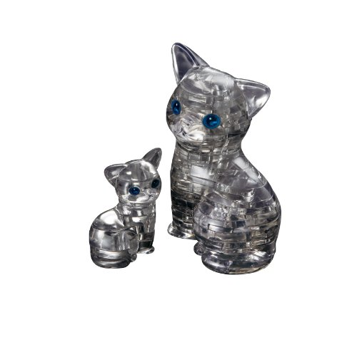 Black Cat Crystal Puzzle by Beverly