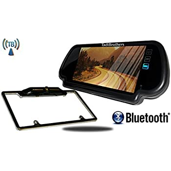 Amazon.com: Tadibrothers 7 Inch Mirror with Bluetooth and