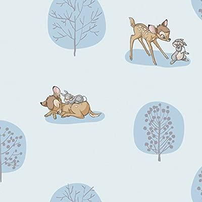 Por Camelot 50 x 110 cm o por panel Tela con dise/ño Bambi de Disney 100 /% algod/ón medio metro