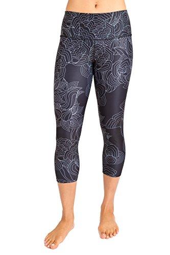 Inner Fire Nocturne Capri Yoga Pants, Medium