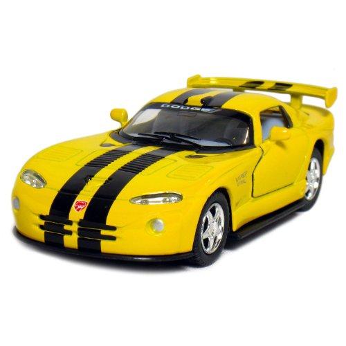 """Kinsmart 5"""" Dodge Viper GTR-S 1:36 Scale (Yellow) from Kinsmart"""