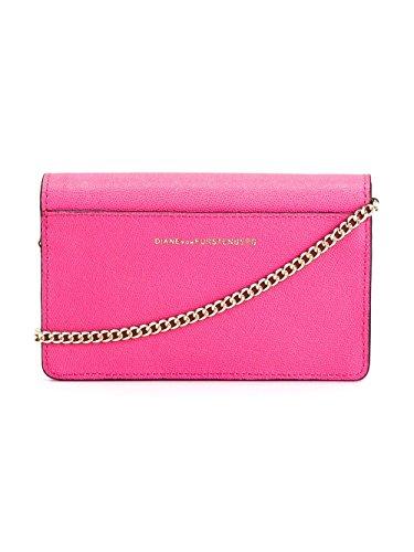 Diane Von Furstenberg Borsa A Spalla Donna A1213058N15SHOCKINGPINK Pelle Rosa