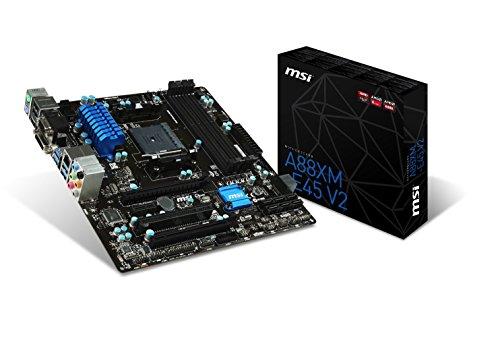 MSI A88XM-E45 V2 Socket FM2+/ AMD A88X/ DDR3/ CrossFireX/ SATA3&USB3.0/ A&GbE/ MicroATX Motherboard