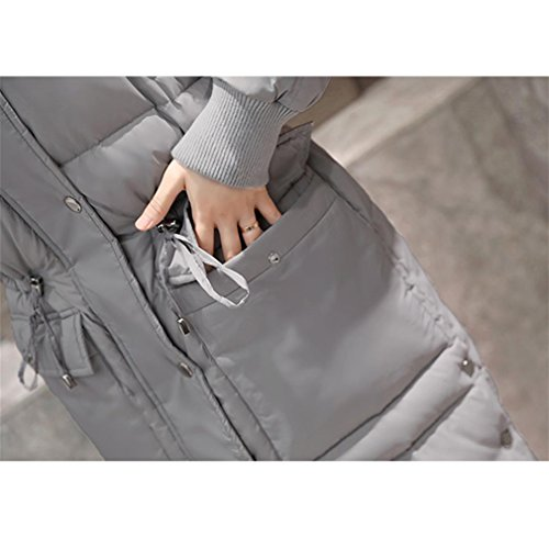 Size YANXH The Grey Winter Long Section Jacket The Female Large Coat New Down In rOrqwdIEBx