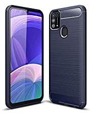 LAGUI Compatible for Samsung Galaxy M31 Case, Lightweight and Durable Ultra Thin Cover, blue