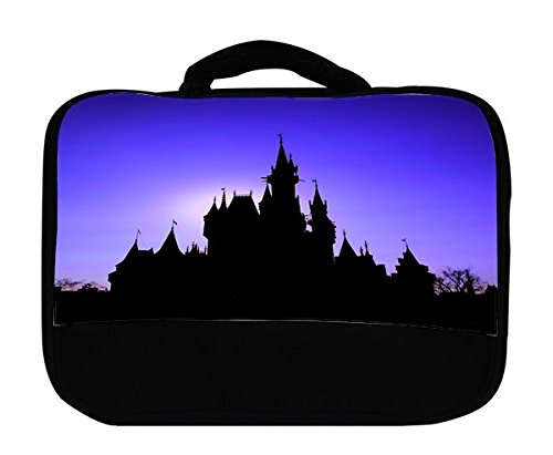 Popular Castle Silhouette Insulated Canvas Lunch Bag