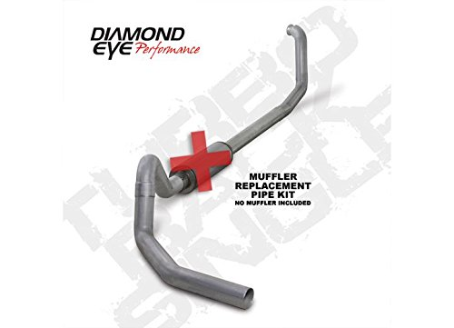 Diamond Eye K4324A-RP Turbo Back Exhaust Kit (Diamond Eye 4' Exhaust)