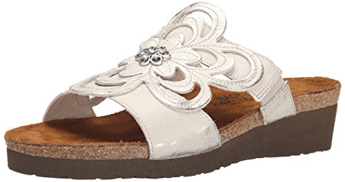 Sandy Naot Womens Sandals Leather Argenté OwTHF1qS7w