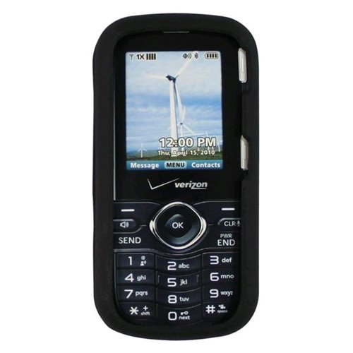Verizon Silicone Case for LG Cosmos VN250 Cell Phone – Black