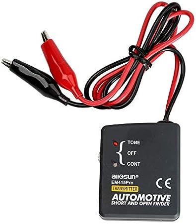 All Sun Em415pro Automotive Auto Tracker Reparatur Kabel Kfz Diagnose Ton Line Finder Test Kurz Offene Dc 6 42 Volt Auto