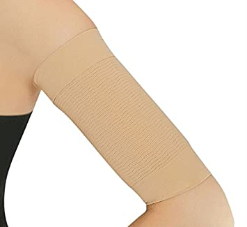 a149c2176b195 Image Unavailable. Image not available for. Color  Slimming Arm Shapewear  ...