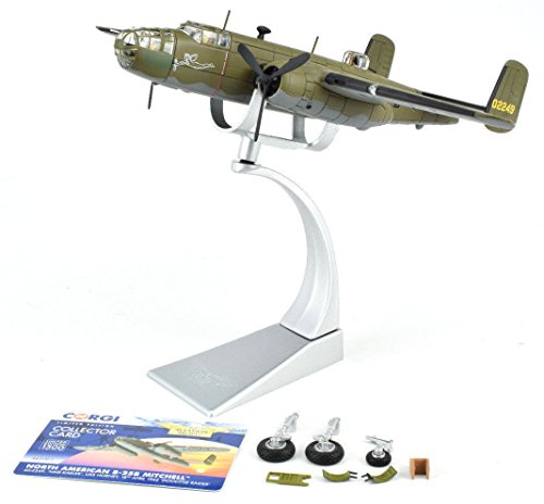 Corgi North American B25 Mitchell - April 1942 1:72 Die-Cast Airplane AA35313