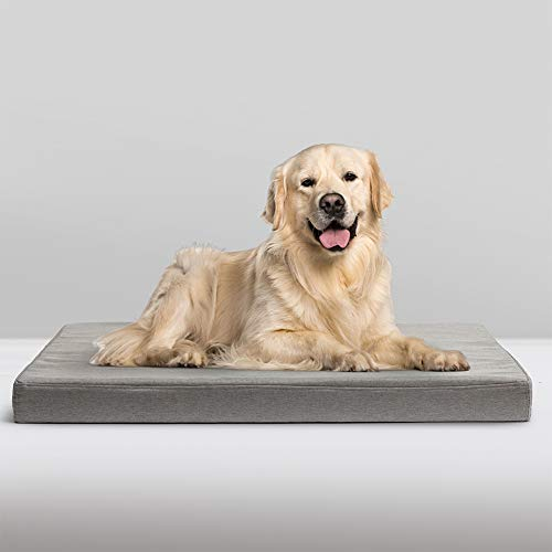 Hollypet Dog Mattress Large Dog Bed Dog Cage Mat Bed Cushion for Medium and Large Dog Cat Bed Pet Bed With Removable…