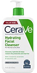 CeraVe Hydrating Face Wash | 16 Ounce | ...