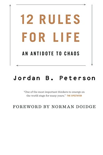 Ebook cover from Jordan B. Peterson: 12 Rules for Life: An Antidote to Chaos by Jordan B. Peterson