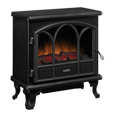Duraflame DFS-750-1 Pendleton Electric Stove Heater Black