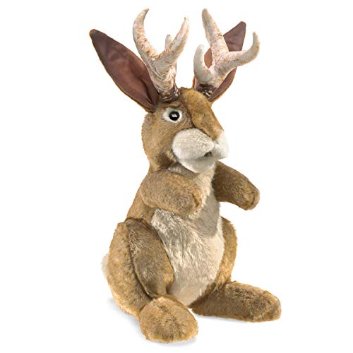 Folkmanis Jackalope Hand Puppet from Folkmanis