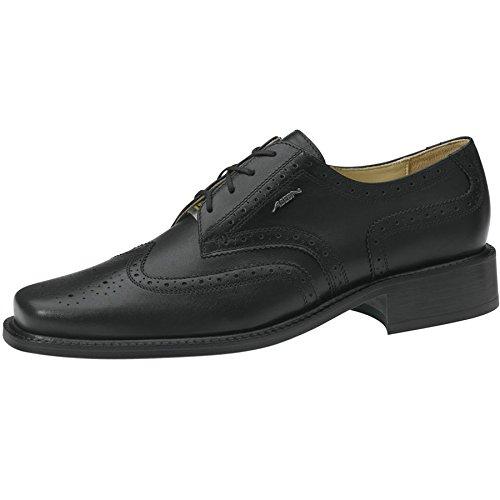 Abeba Manager Business Schuhe aus Leder zum Schnüren mit Lochverzierung