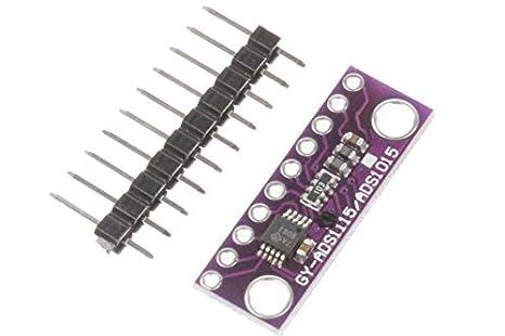 NOYITO ADS1115 Super Mini 16 Bit 4-Channel ADC Module Precised