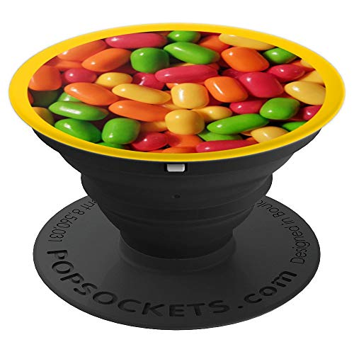 Fruit Flavored Assorted Mix Bulk Fruity Fun Candy Mints - PopSockets Grip and Stand for Phones and Tablets
