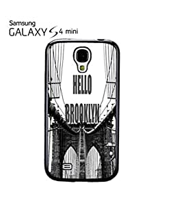 Hello Brooklyn New York Mobile Cell Phone Case Samsung Galaxy S4 Mini White