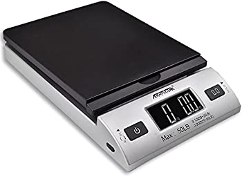 Accuteck All-In-1 Series Digital Postal Scale with AC Adapter (50-lb Capacity)