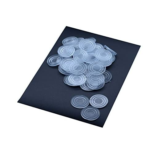 Durable Service Clear Glass Table Top Bumpers Large Size Glass Table Top  Spacers Non Slip