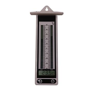 Koch 86914 - Termómetro elektr. termómetro de mínima/máxima, Blanco