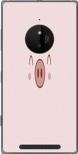 Adorable Pink Pig Nose Snout Lumia 830 Vinyl Decal Sticker Skin ()