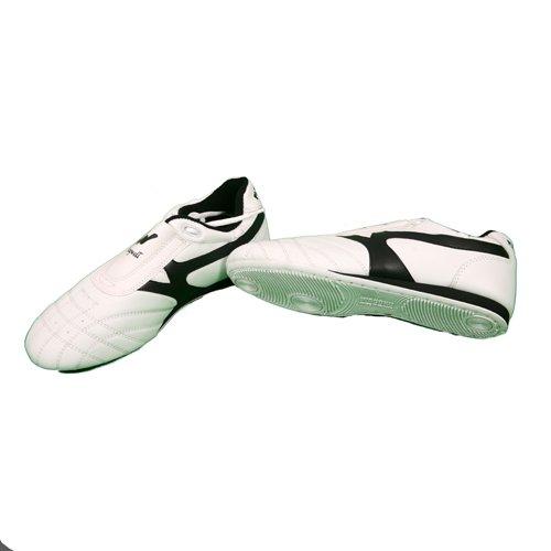 Per arti marziali per allenamento, in pelle, colore: bianco, 120-30-F