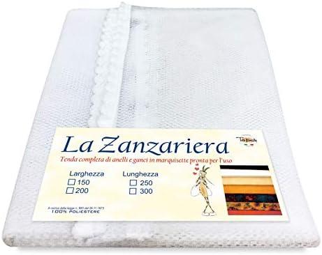 Cortina mosquitera para exterior, jardín o balcón, 150 x 250 cm, blanca: Amazon.es: Bricolaje y herramientas