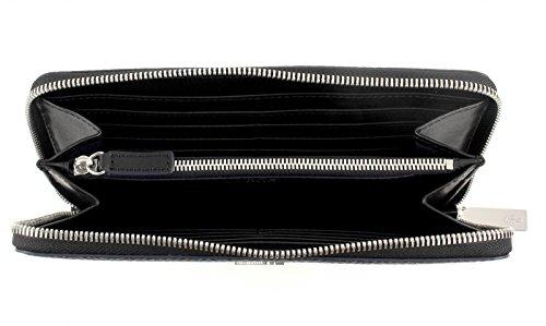 LACOSTE Renee Large Zip Wallet Black