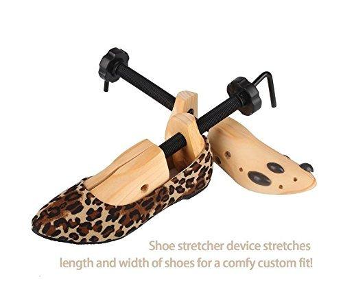 Echodo 2 way Cedar Shoe Trees Wooden Shoe Stretcher